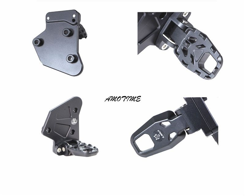 For HONDA X-ADV XADV X ADV 2017 Motorcycle accessories Folding Rear Foot Pegs Footrest Passenger