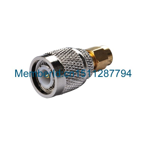 2015 Top Brand RF Coaxial Adapter Connector SMA male to TNC male straight