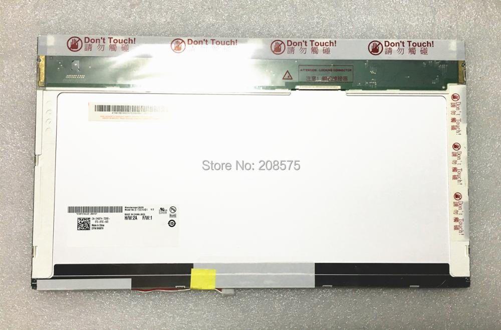 Free Shipping B156XW01 V2 V.2 V1 V0 V3 LTN156AT01 LP156WH1 TLC1 CLAA156WA01A N156B3-L02 15.6'inch LCD screen 1366*768 LVDS 30pin