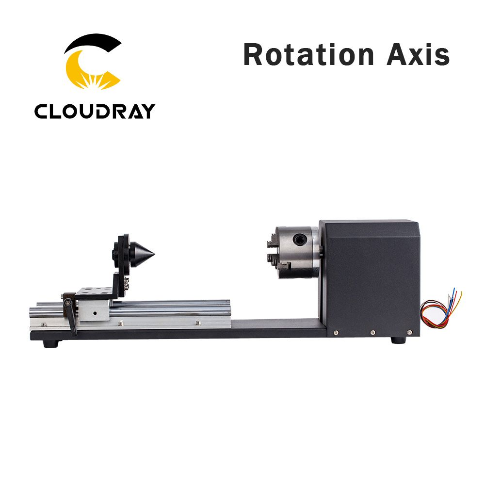 Cloudray Machine Mechanical Parts Chuck Rotation Axis Rotate Engraving for Laser Engraving Cutting Machine Model B