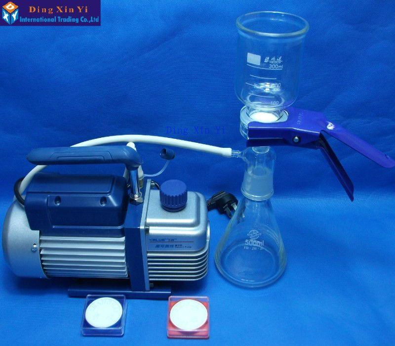 500ml membrane filter+vacuum pump+filtering membrane,Ultra low-cost Vacuum filtration apparatus