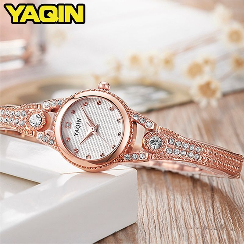 YAQIN top luxury brand women watch women bracelet watch fashion quartz watch Relogio Feminino Montre Femme