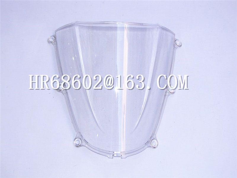 HotSale For Honda CBR 600 F5 2005 2006 cbr 600 f5 05 06 White Windshield WindScreen Double Bubble CBR600 cbr600 CBR600RR rr RR