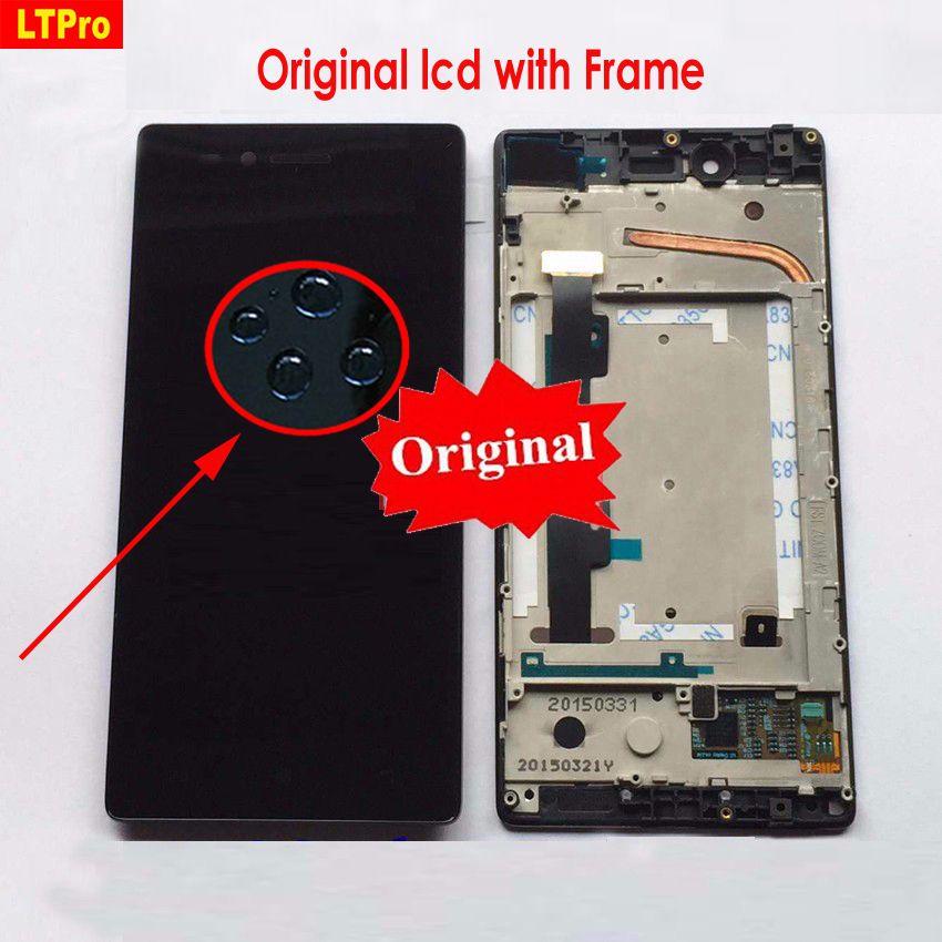 LTPro LCD Affichage à L'écran Tactile Digitizer Assemblée Panneau de Verre avec Cadre Pour Lenovo VIBE Tir MAX Z90 z90a40 z90-7 z90-3 z90-a