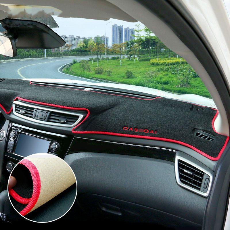 For Nissan Qashqai J11 X-trail T32 Rogue 2014 2015 2016 2017 2018 Car Dashboard Covers Mat Shade Cushion Pad Carpets Accessories