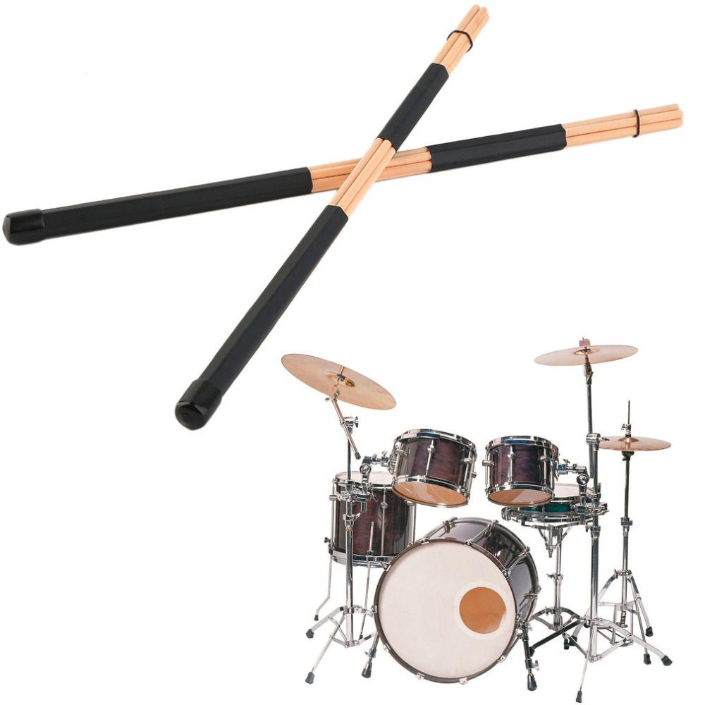1 пара Высокое качество woodenhot стержней руте Джаз Барабаны Щупы для мангала 40 см Бесплатная доставка
