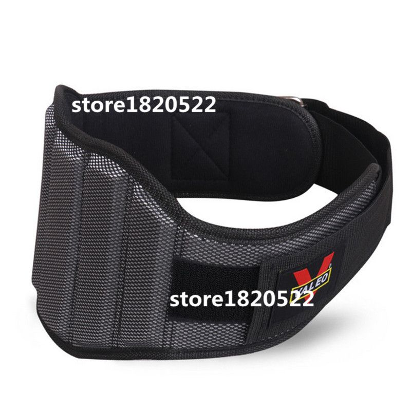 Nylon Weight Lifting Squat Belt Fitness Gym Waist Protect Lumbar Power Training Barbell Powerlifting Weightlifting Belt