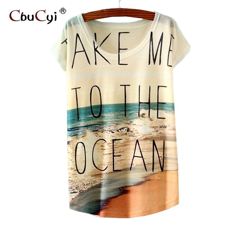 Printed short sleeve T-shirt vogue camisetas mujer verano 2017 woman tshirt top Kawaii hipster camiseta mujer manga corta