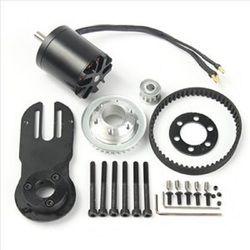 83 Mm 90 Mm 97 Mm Listrik Skateboard Motor Motor 1800 W 5 M Gear 270 Mm Sabuk Kit dan Motor mount Bagian Riserpad