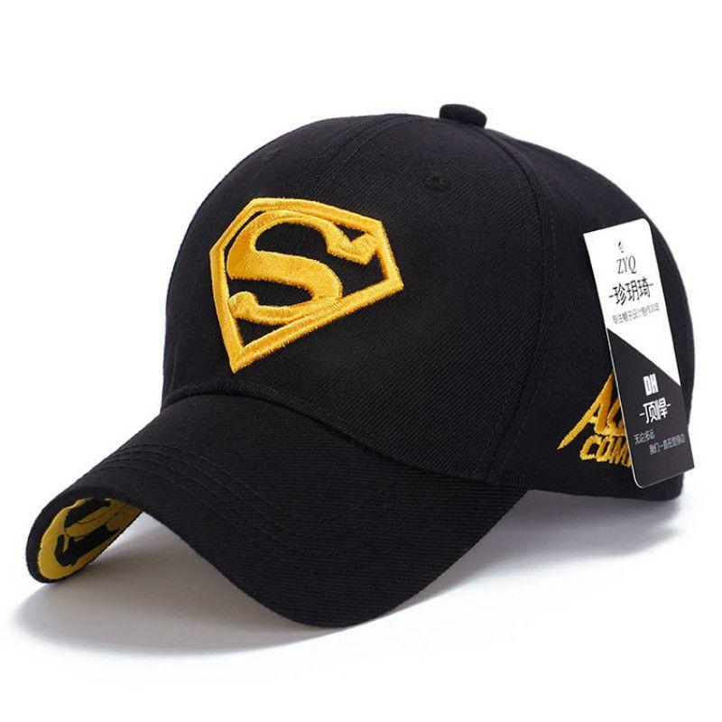 Модные Демисезонный Мужской бейсболка на открытом воздухе Супермен вышивка женский Sunhat солнцезащитный унисекс кепки гольф шапки