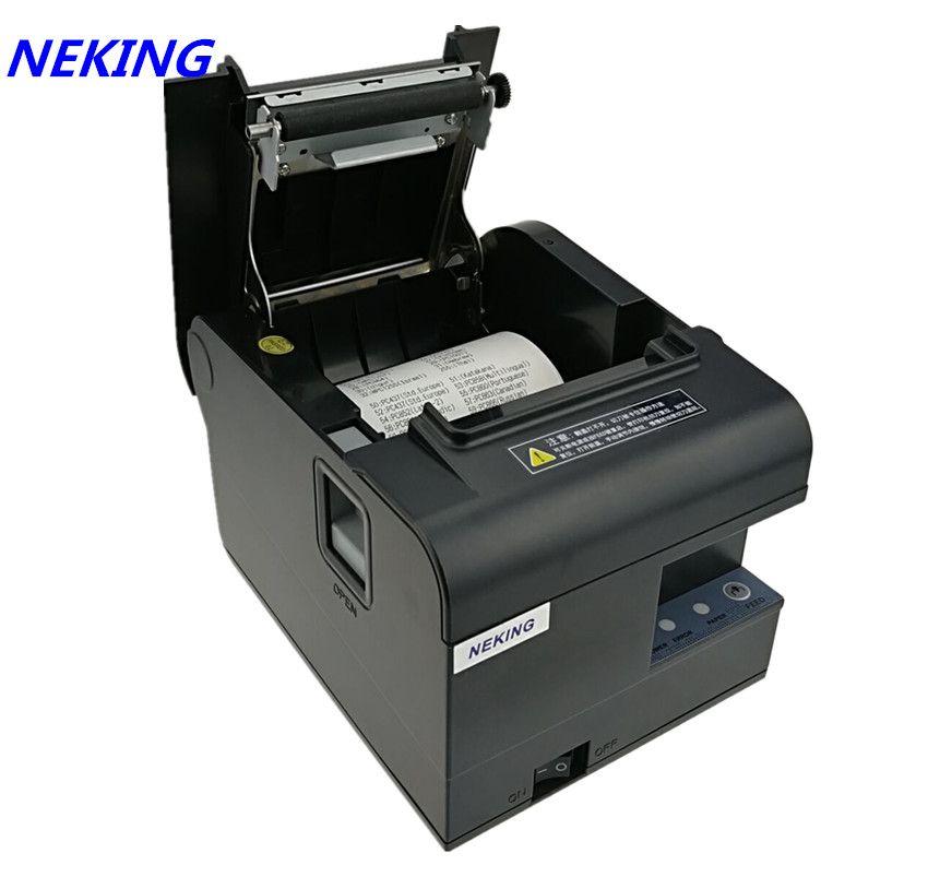 Marke neue 80mm empfang bill thermodrucker hochwertigen Kleine ticket POS drucker automatische schneiden druckgeschwindigkeit Schnelle