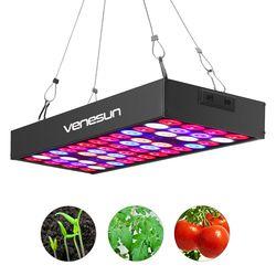 LED Grow Light Panel 36 w Venesun espectro completo con IR y UV planta lámparas para plantas de interior hidropónico invernadero