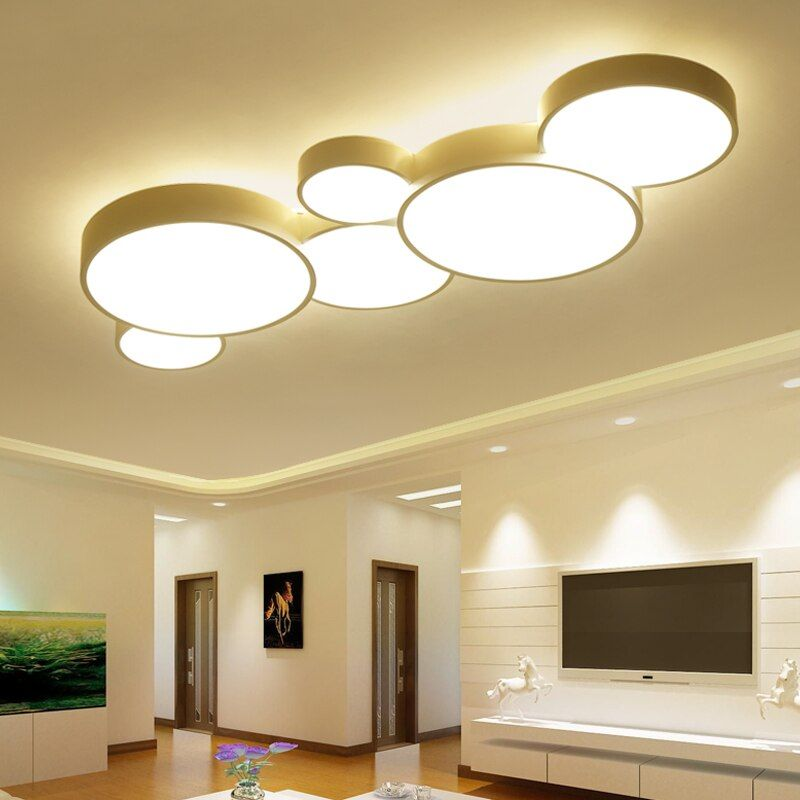 Surface Mounted Modern Led Ceiling Lights For Living Room luminaria led Bedroom avize Fixtures Indoor Home Dec Ceiling Lamp