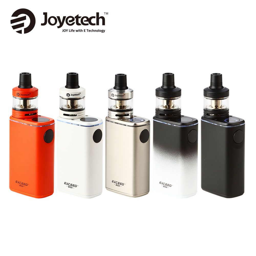 Joyetech Exceed Box Mod with Exceed D22C Tank Starter Kit 3000mAh Built In Battery Joyetech Exceed Full Kit Electronic Cigarette