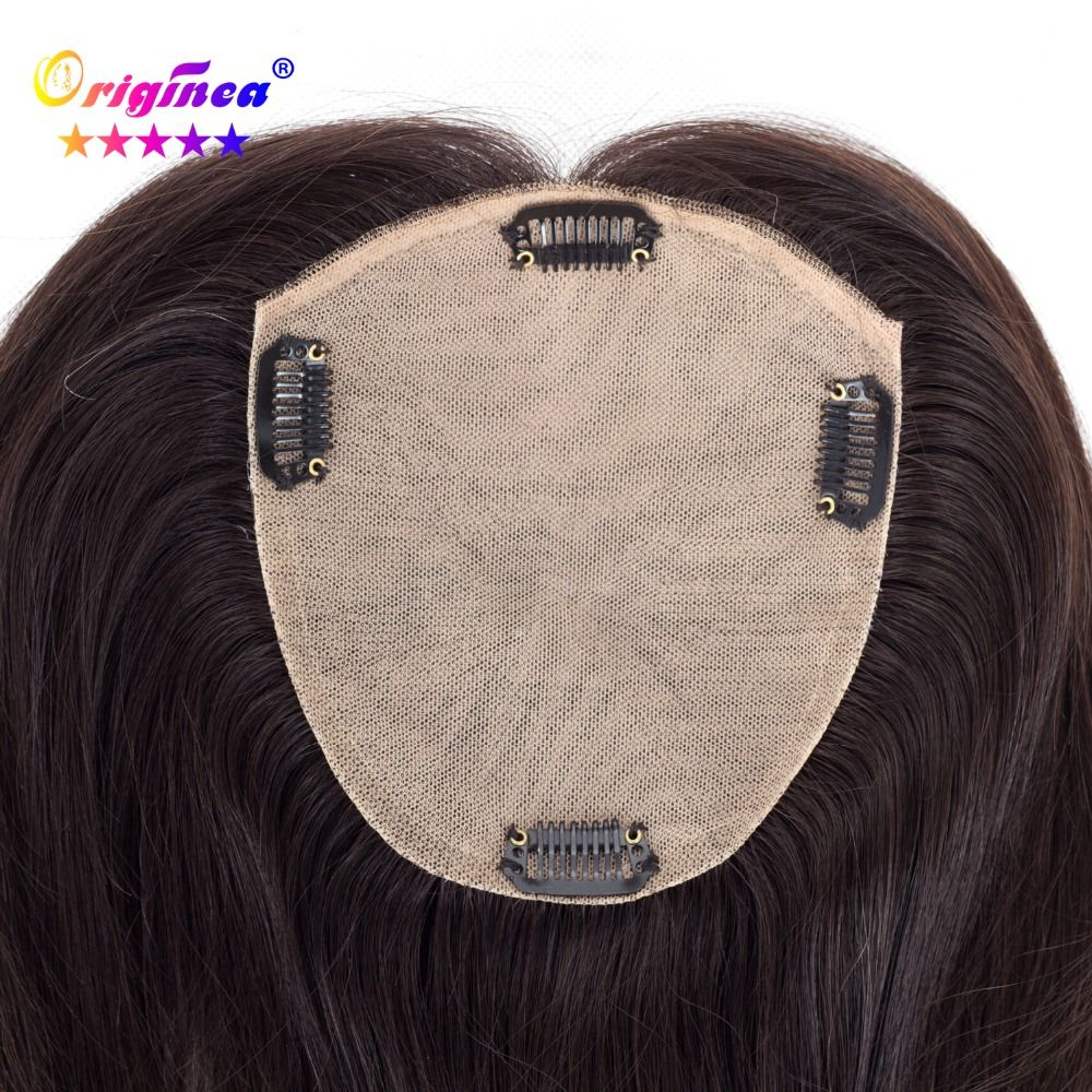 Originea Human Hair Toupee for Women Net Base Size 13*15 cm Hair Length 12 inch 30cm Replacement System can be Dyed and Bleached