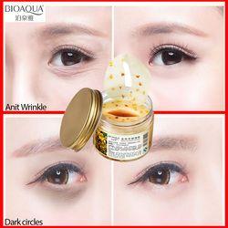 BIOAQUA Gold осмотическая маска для глаз против морщин Ageless Sleep патч для кожи вокруг глаз патчи для глаз темный круг маска для ухода за кожей лица а...