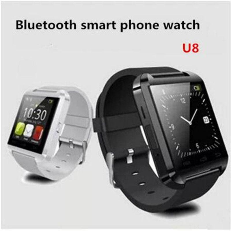 Bluetooth Smart часы U8 с Камера Bluetooth наручные часы для IOS Android Для мужчин Для женщин SmartWatch PK X6 U8 t8 A1 Q18 dz09 gt08