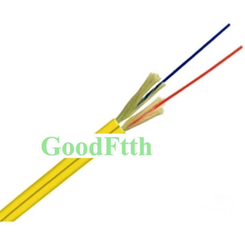 Optische Innen Kabel SM G652D Null Wasser Peak Faser Duplex LSZH LSOH O. D.3mm GoodFtth 1-5km