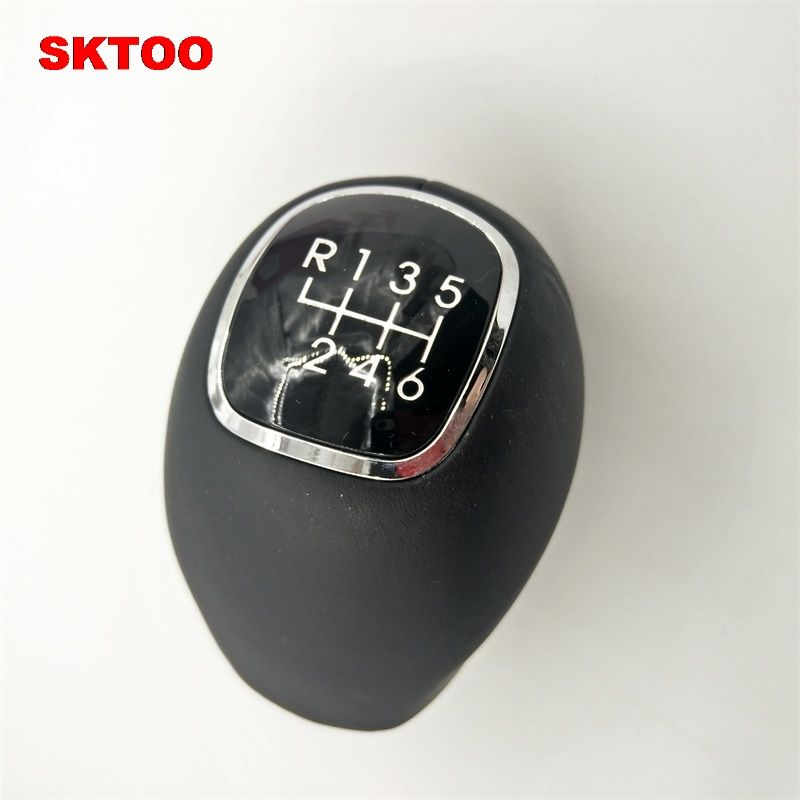 SKTOO For Kia Sportage 2011-2015 New Genuine Leather 6 Speed Manual Transmission Gear Shift Knob MT 43711 3W400HU 437113W400