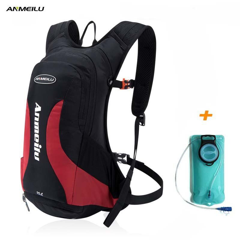 2017 New ANMEILU 10L Sport Hydration Backpack 2L Water Bladder Bag Waterproof Cycling Backpack Climbing Camelback Rucksack