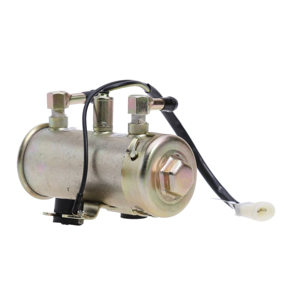 Newest 12V Car Electric Fuel Pump Facet Red Top Style Fuel Petrol Diesel Pump Kit Engine Fuel Pump High Quality