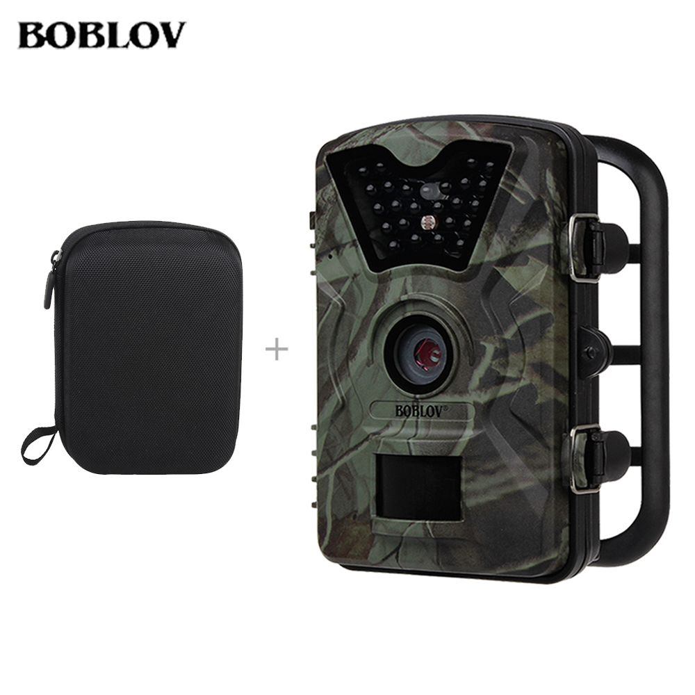 BOBLOV CT008 12MP 1080 P HD Jagd Scounting Kamera Infrarot IR LED Video Aufnahme Spiel Trail Cam Sicherheit Kostenloser Transport tasche