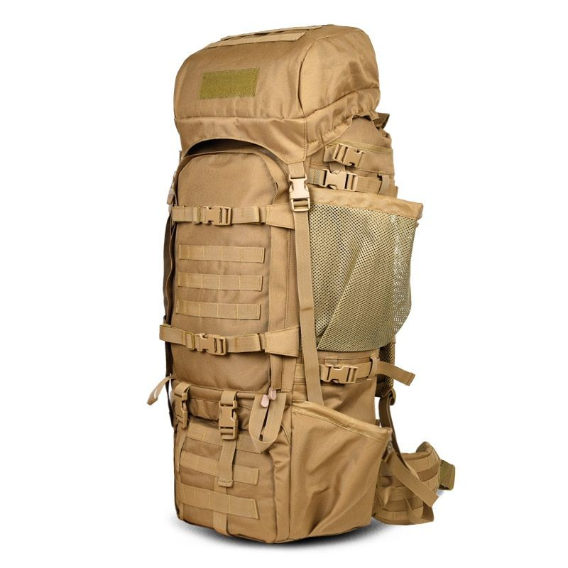 110L Outdoor Mountaineering Bag Backpack Male Super Large Capacity Backpack Hiking Big Backpack Camping Camouflage Bag A4832