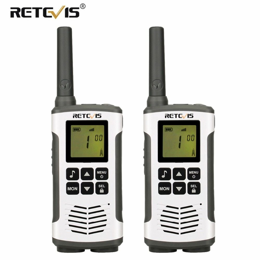 2pcs Retevis RT45 Walkie Talkie PMR446 PMR Radio 446 MHz/FRS Handheld 2 Way Radio Station Hf Transceiver Micro USB Charging VOX