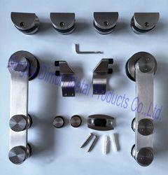 Dimon acier Inoxydable 304 quincaillerie de porte coulissante en verre quincaillerie de porte coulissante quincaillerie de porte DM-SDG 7002 sans coulissante piste
