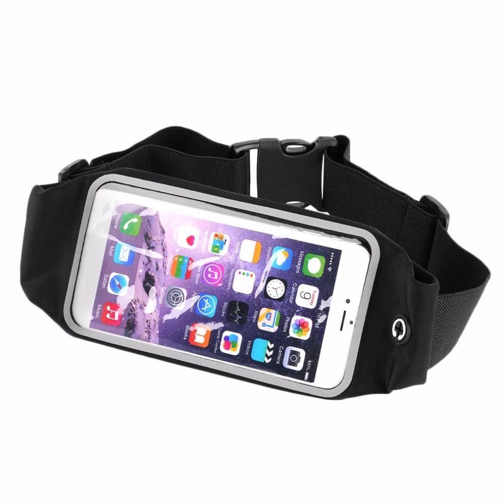Wasserdichte Taille Reise Outdoor-sport-laufband Geld Brieftasche Tasche Für iPhone 6 Plus 5,5 Sports Pack Wandern Mini Zip tasche