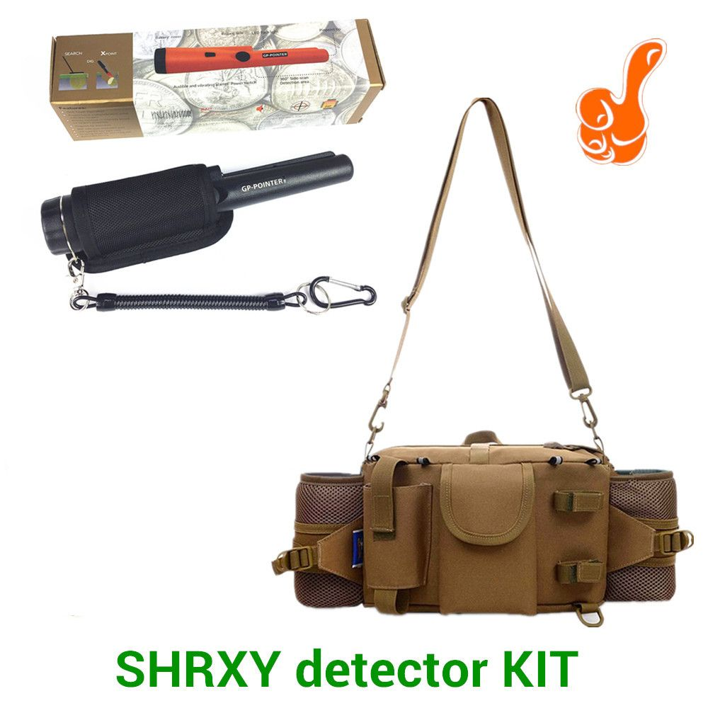 2018 Upgraded Sensitive Gp-pointer Metal Detector Kit Pro Pinpointing Hand Held Metal Detector with Toolkit Pockets