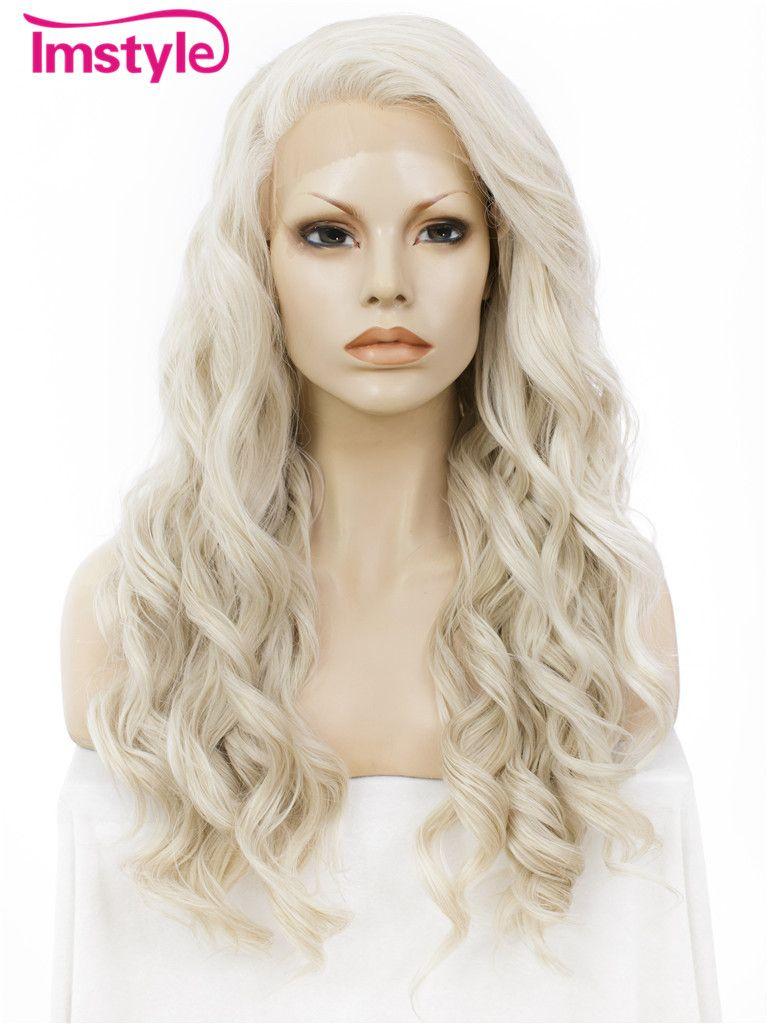 Imstyle волнистые мед пепельный блондин 24
