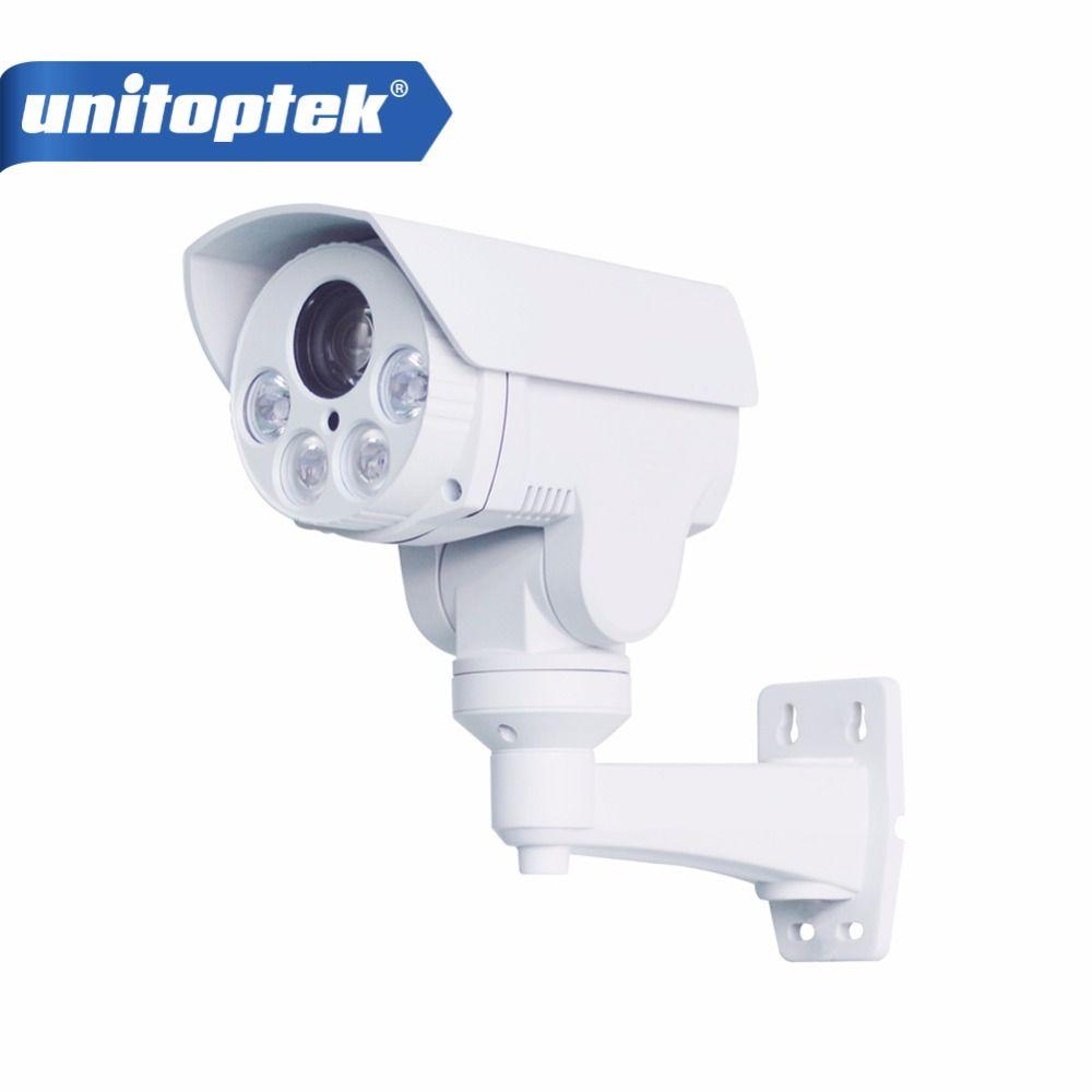 CCTV Camera 10X Optical Zoom Auto Iris HD 1080P Bullet 2MP IP Camera PTZ Outdoor Weatherproof Anbarella A5S Night Vision IR 80M