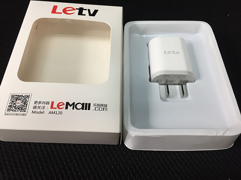Original Letv charger For Letv 1 MAX 1PRO AM120 5V/2A Usb Travel Charge Adapter with Retail Package