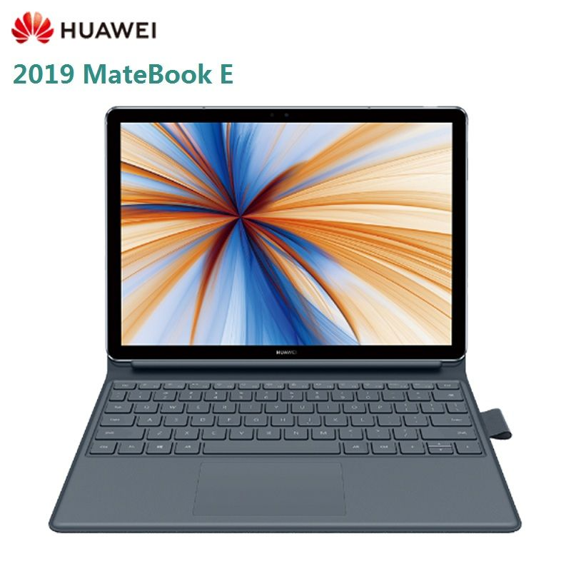 2019 neue HUAWEI MateBook E 12,0 zoll Laptop Windows 10 Qualcomm SDM850 8GB 256GB Fingerprint Sensor 4G Tablet PC
