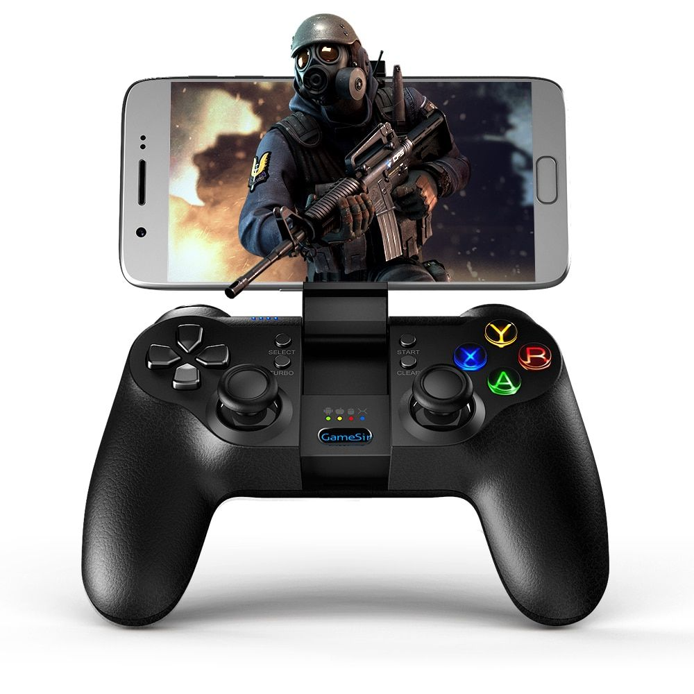 GameSir T1s Bluetooth Wireless Gaming Controller Gamepad for Mobile Legend, Aov games, Remaping, Android/Windows/VR/TV Box/PS3