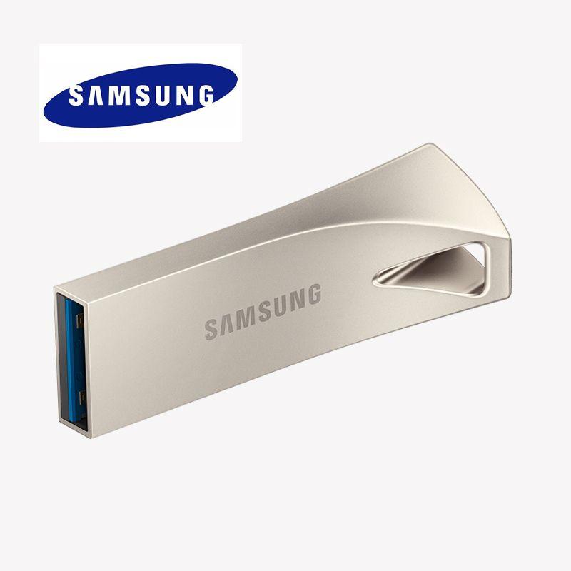 SAMSUNG USB 3.1 Flash Drive BAR 32GB 128G Pen Drive USB DIY Logo Mini Flash Memory Memoria Stick Storage Device U Disk Pendrive