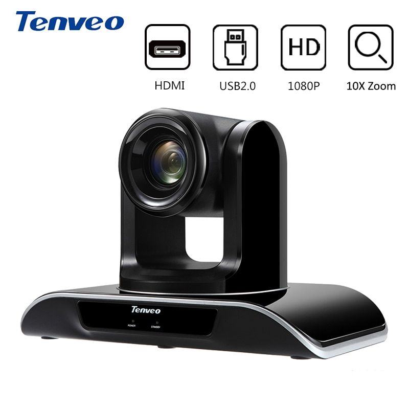 Tenveo VHD103U PTZ HDMI full HD 1080 p Video Kamera USB 3.0 10X Optische Zoom 2,38 mega Pixel Video Konferenz Kamera für Projektor