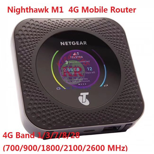 Netgear Nighthawk M1 4GX Gigabit LTE Mobile Router Neue Entsperrt PK Y855 B525 E5186
