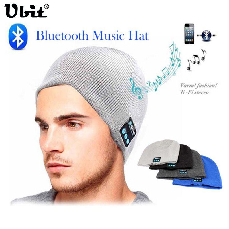 Ubit Hommes Femmes Sport En Plein Air Sans Fil Bluetooth Écouteur Stéréo Musique Magique Chapeau Intelligent Électronique Chapeau pour iPhone SmartPhone