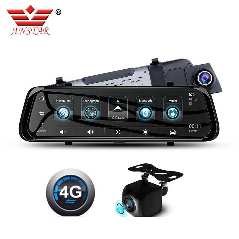 ANSTAR Car Dvr 4G Android Mirror Dash Camera 10