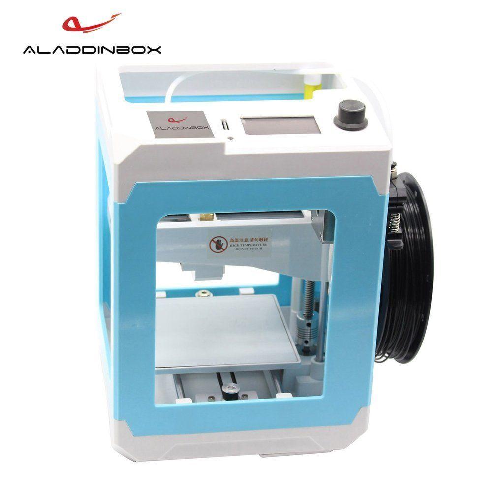 ALADDINBOX Desktop 3D Printer US/EU Plug 1.75mm Filament For Home School Easy Setup Portable Diy 3 D Printer Diy Drop Shipping