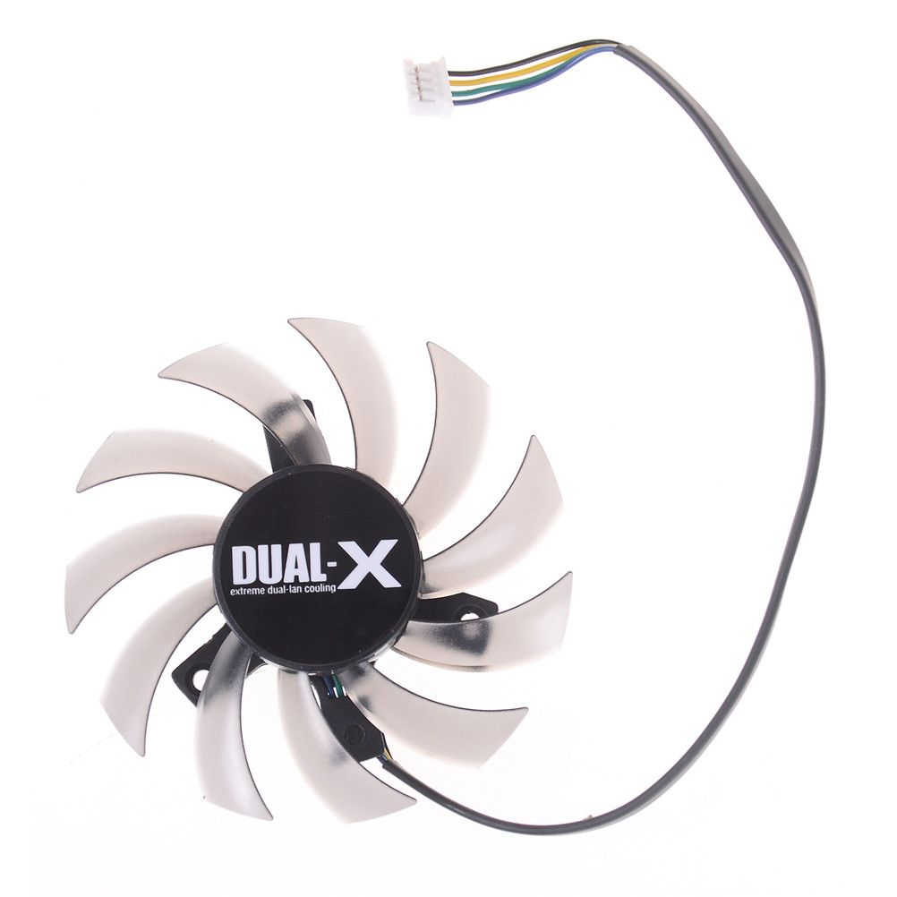 FD7010H12S 75mm x 75mm x 10mm Cooler Fan For ASUS MSI Radeon Sapphire 6930 7850 GTX 550 750 770 Ti HD 7870 Video Card Cooling