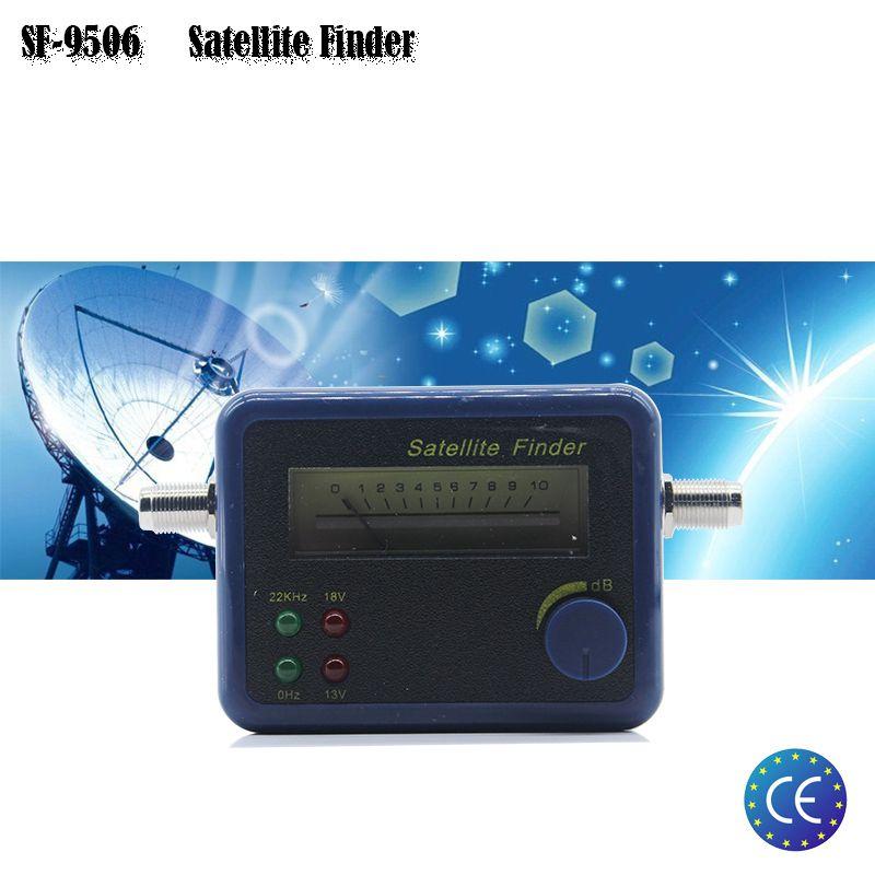 SF-9506 Hd Numérique Détecteur de Satellite Pour La TÉLÉVISION Par Satellite Récepteur Soutien DVBS/DVBS2 Satellite Finder Compteur Satellite