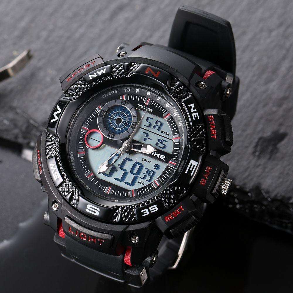 Relogio Masculino étanche Sports de plein air G Style choc montres hommes Quartz heures montre numérique montre-bracelet LED militaire