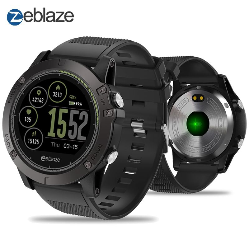 New Zeblaze VIBE 3 HR IPS Color Display Sports Smartwatch Heart Rate Monitor IP67 Waterproof Smart Watch Men For IOS&Android