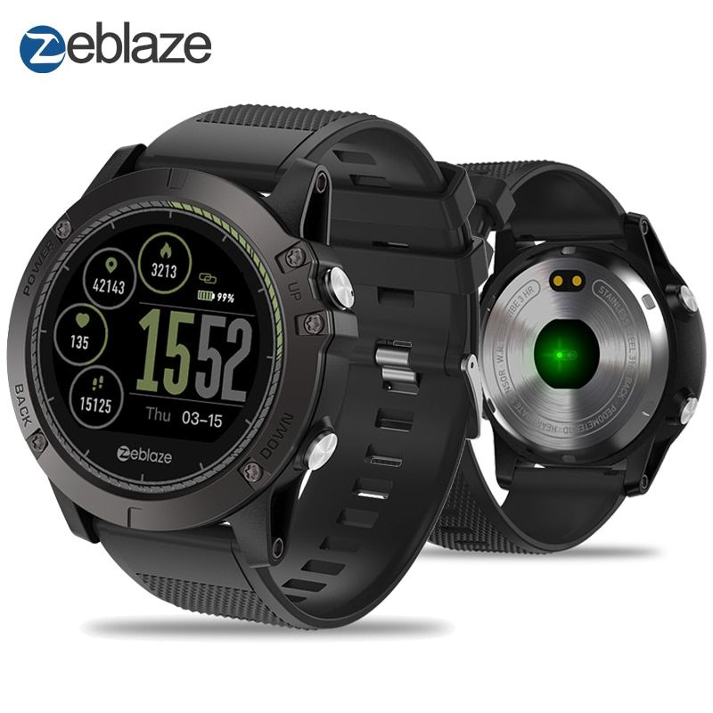 Zeblaze VIBE 3 HR Smart Watch IPS Color Display Sports Smartwatch Heart Rate Monitor Waterproof Smart Watch Men For IOS&Android
