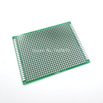 5 PCS/Lot 7X9 cm Double Side Prototype pcb 7*9 cm Planche À Pain Universel Fiber De Verre Pratique Test pour DIY Kit Électronique