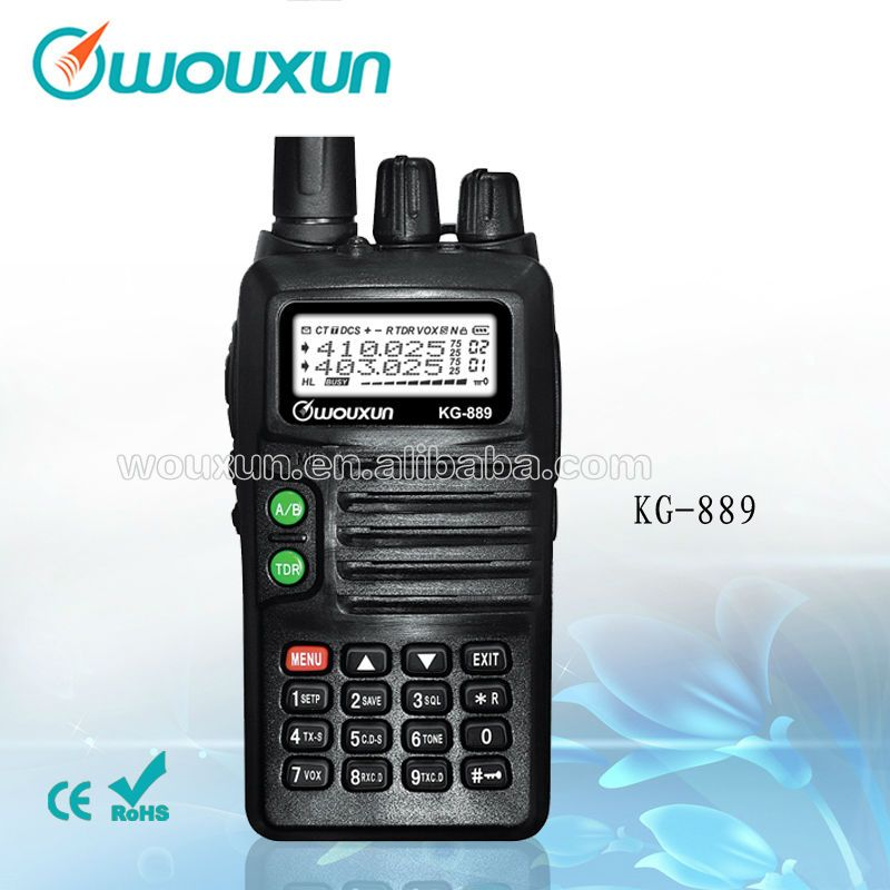 Wouxun KG-889 (400-480)With Dual Frequency Dual Display And Dual Standby