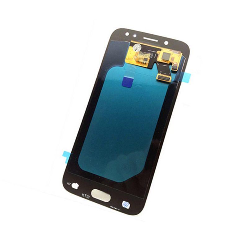 Craz Cow Digitizer AMOLED LCDs For Samsung Galaxy J5 2017 J530 J530F J530M Phone LCD Screen Display Touch Brightness Adjustment
